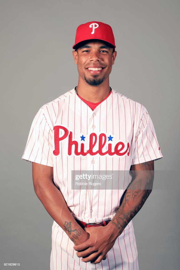 Nick Wiliams #5 of the Philadelphia Phillies poses during Photo Day on Tuesday, February 20, 2018 at Spectrum Field in Clearwater, Florida.