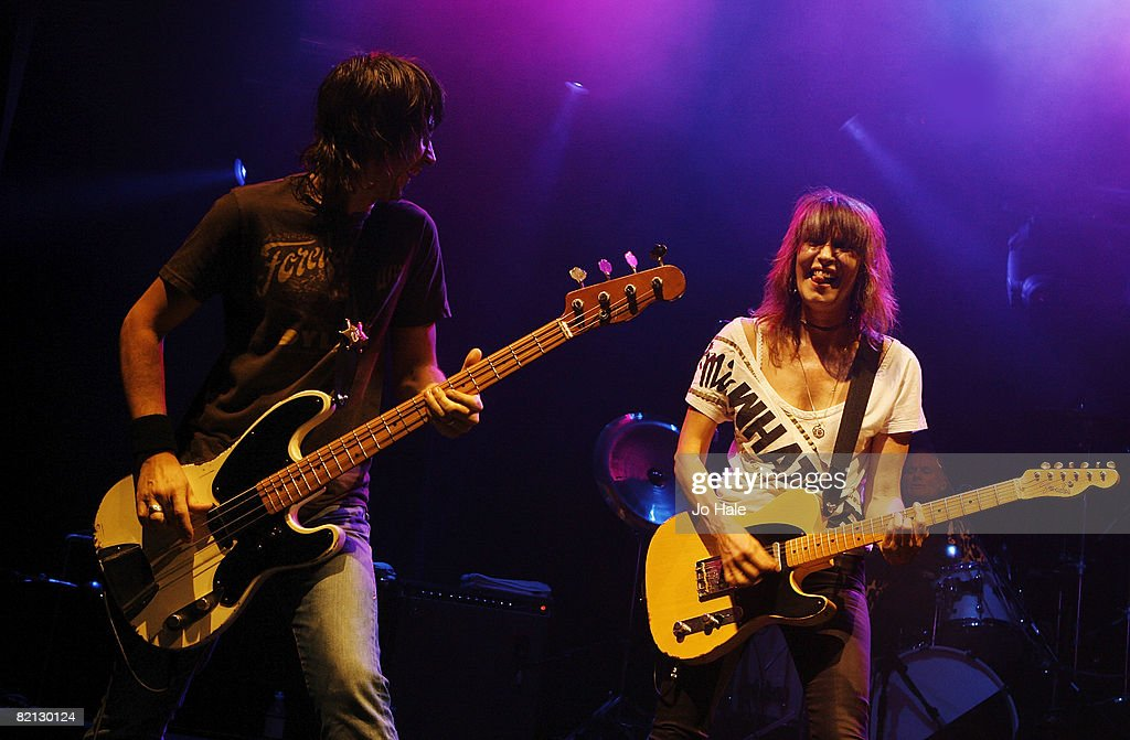 The Pretenders Perform At The iTunes Music Festival 08 : News Photo