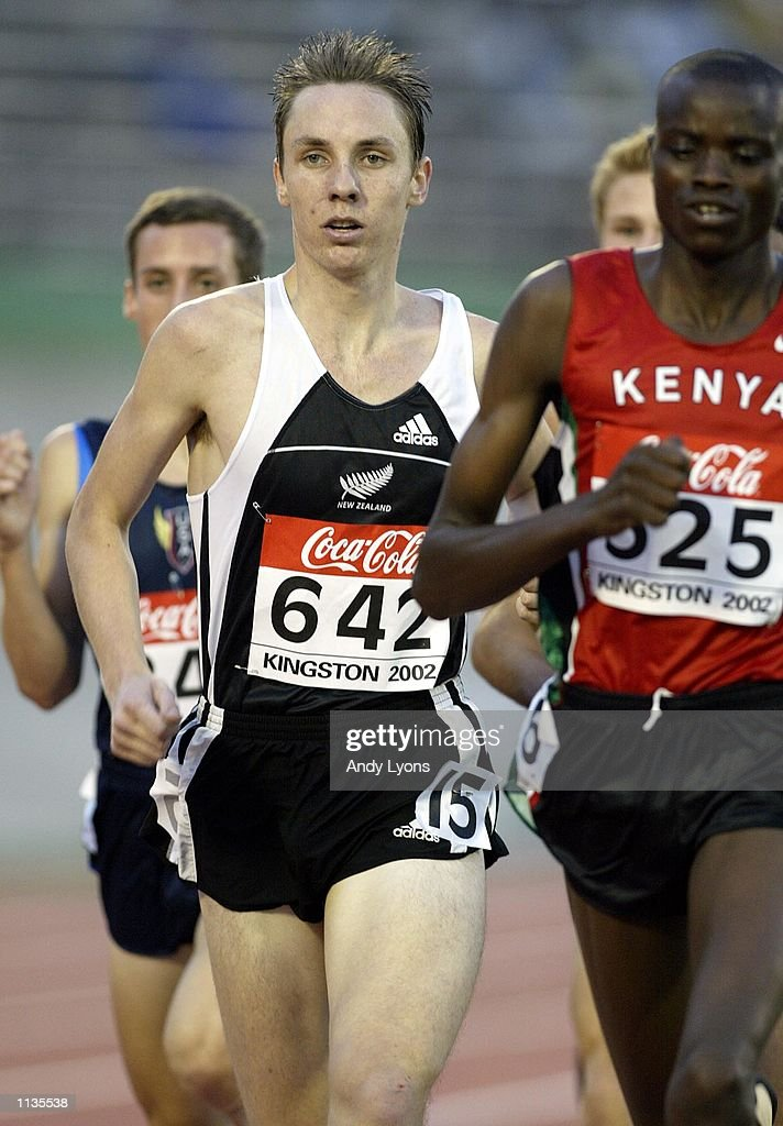 KINGSTON, JAMAICA - JULY 18:   Nick Willis of New Zealand competes in the Mens 1500 Meters qualifica : News Photo