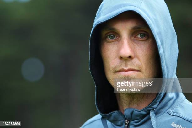 Nick Willis of New Zealand poses during the Capital Classic at Newtown Park on January 23, 2012 in Wellington, New Zealand.