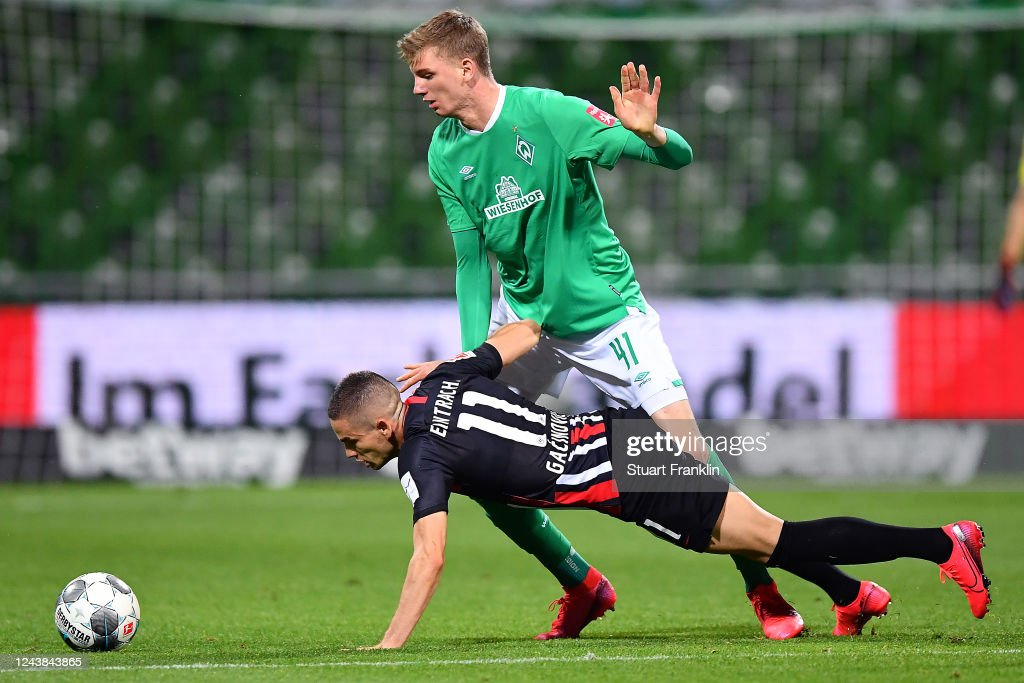 SV Werder Bremen v Eintracht Frankfurt - Bundesliga : News Photo