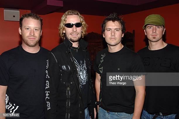 Nickelback during Nokia UNWIRED Concert Series September 27 2005 at Nokia Theater in New York City New York United States
