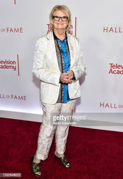 Nickelodeon cofounder Geraldine B Laybourne attends the Television Academy's 25th Hall Of Fame Induction Ceremony at Saban Media Center on January 28...