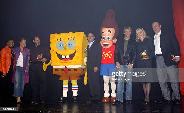 Nickelodeon EVP Public Affairs Marva Smalls Nickelodeon TV President Cyma Zarghami Fisher Price President Neil Friedman SpongeBob Squarepants CAAF...