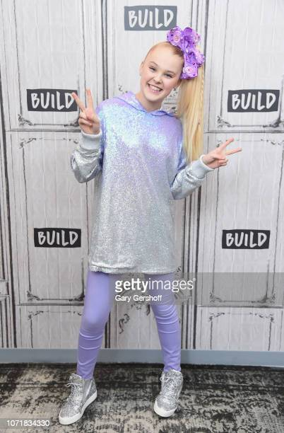 Nickelodeon star JoJo Siwa visits Build Series to discuss her upcoming 'DREAM The Tour' at Build Studio on December 11 2018 in New York City