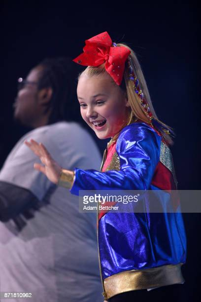 Nickelodeon talent New York Times bestselling author YouTube sensation singer dancer actress and ambassador of antibullying JoJo Siwa cohosts WE Day...