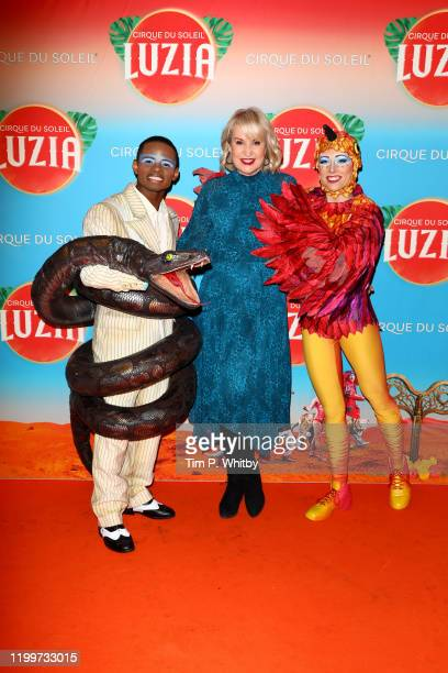 Nicki Chapman attends Cirque du Soleil's LUZIA at Royal Albert Hall on January 15 2020 in London England
