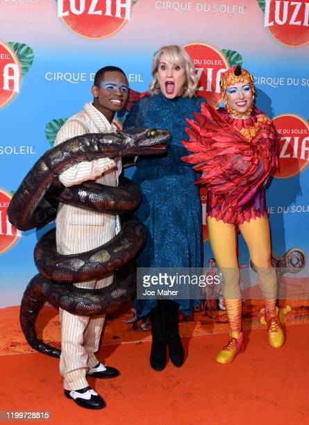 Nicki Chapman attends Cirque du Soleil's LUZIA at The Royal Albert Hall on January 15 2020 in London England