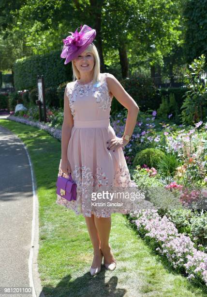 Nicki Chapman attends day 4 of Royal Ascot at Ascot Racecourse on June 22 2018 in Ascot England