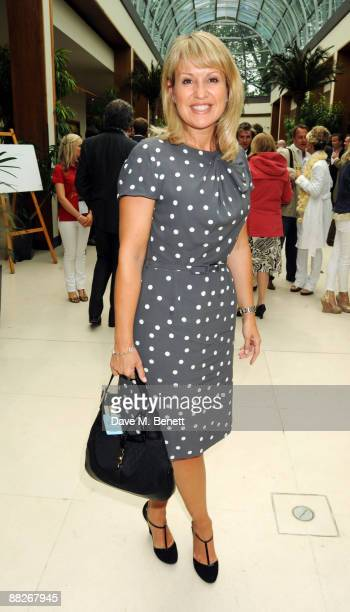 Nicki Chapman attends Polo In The Park at The Hurlingham Club on June 6 2009 in London England
