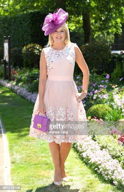 Nicki Chapman attends Royal Ascot Day 4 at Ascot Racecourse on June 22 2018 in Ascot United Kingdom