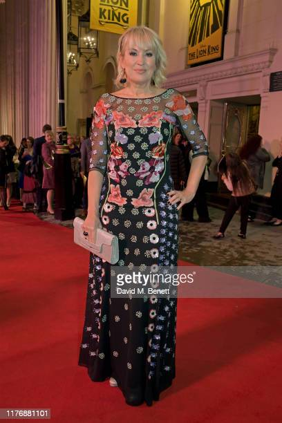 Nicki Chapman attends the 20th anniversary gala performance of The Lion King at The Lyceum Theatre on October 19 2019 in London England
