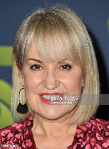 Nicki Chapman attends the Channel 5 2020 Upfront photocall at St Pancras Renaissance London Hotel on November 19 2019 in London England