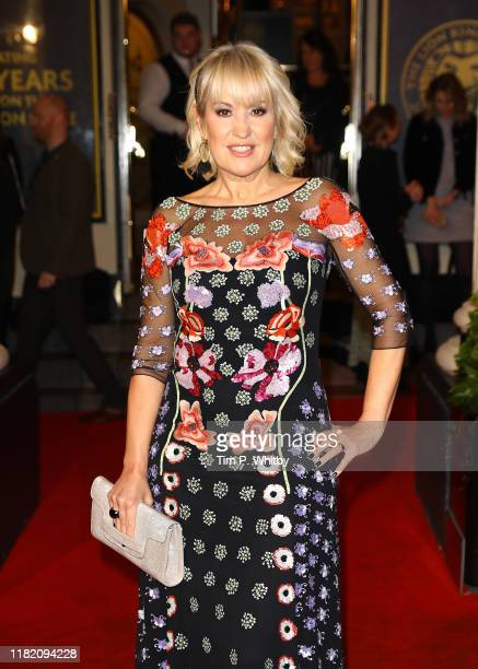 Nicki Chapman attends The Lion King 20th anniversary gala performance at Lyceum Theatre on October 19 2019 in London England