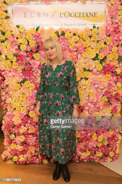 Nicki Chapman attends the L'Occitane x ELN Cafe Launch Party at their Flagship store on Regent Street on November 07 2019 in London England