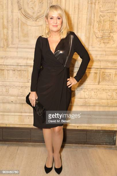 Nicki Chapman attends the Opening Night performance of Cirque Du Soleil OVO at the Royal Albert Hall on January 10 2018 in London England
