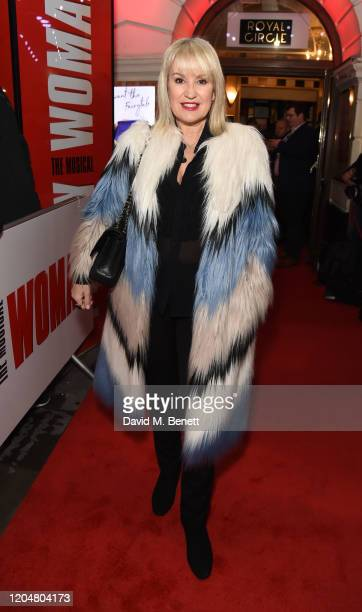 Nicki Chapman attends the press night performance of Pretty Woman at the Piccadilly Theatre on March 2 2020 in London England
