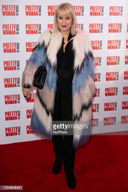 Nicki Chapman attends the press night performance of ''Pretty Woman'' at the Piccadilly Theatre on March 2 2020 in London England