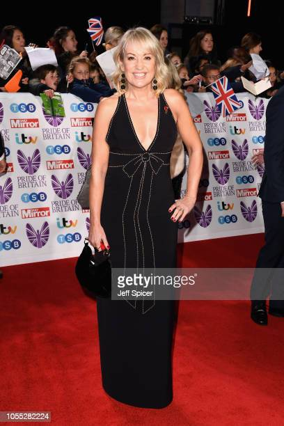 Nicki Chapman attends the Pride of Britain Awards 2018 at The Grosvenor House Hotel on October 29 2018 in London England