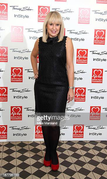 Nicki Chapman attends the Tunnel of Love fundraiser in aid of the British Heart Foundation at One Mayfair on November 12 2013 in London England