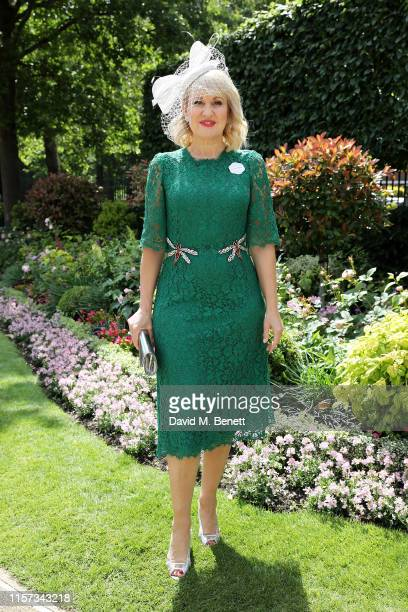 Nicki Chapman on day 4 of Royal Ascot at Ascot Racecourse on June 21 2019 in Ascot England