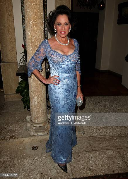 RATES Nicki Haskell at the wedding of Ivana Trump and Rossano Rubicondi at the MaraLago Club on April 12 2008 in Palm Beach Florida