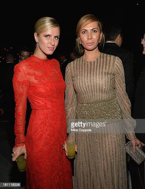 Nicki Hilton and Inga Rubenstein attend the 11th BrazilFoundation NYC Gala after party at Bar Nana on September 18 2013 in New York City