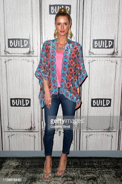 Nicki Hilton attends Build Brunch at Build Studio on February 11 2019 in New York City