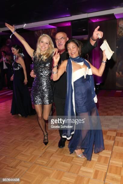 Nicki Huebner Otto Retzer and his wife Shirley Retzer dance during the Four Seasons Fashion Charity Dinner at Hotel Vier Jahreszeiten on March 15...