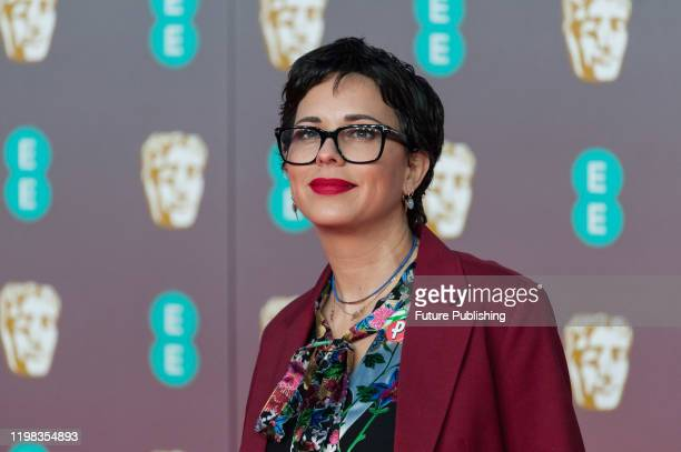 Nicki Ledermann attends the EE British Academy Film Awards ceremony at the Royal Albert Hall on 02 February, 2020 in London, England.- PHOTOGRAPH BY...