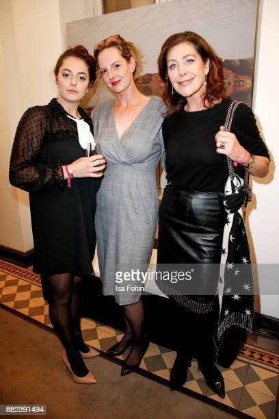 Nicki Luebbe with her daughter Sophie Ninette Luebbe and Alexandra von Rehlingen during the event 'LANS Medicum celebrates its 5th anniversary' at...