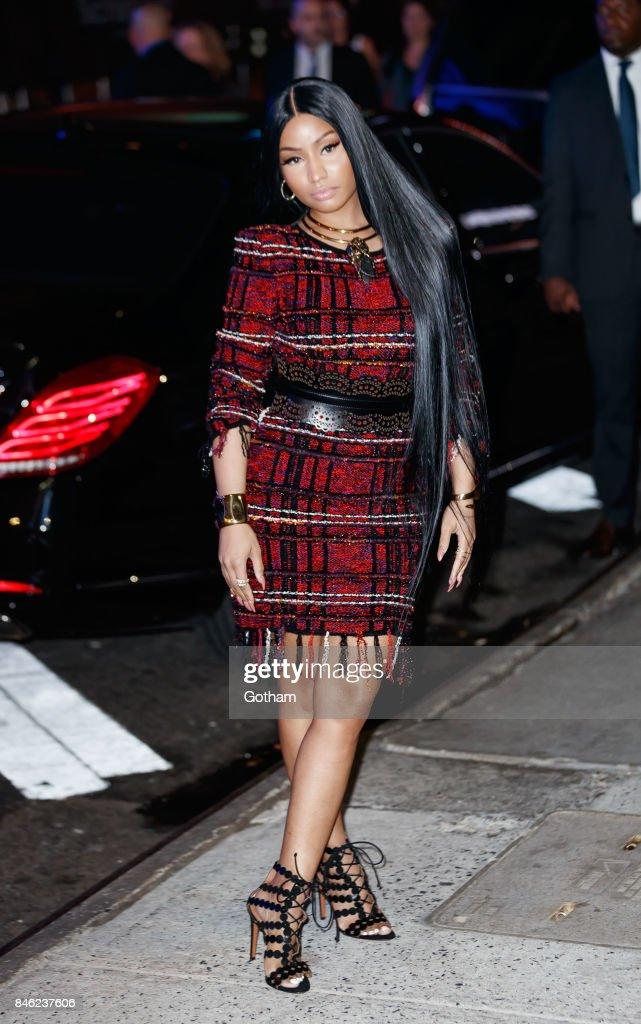 Celebrity Sightings in New York City - September 12, 2017