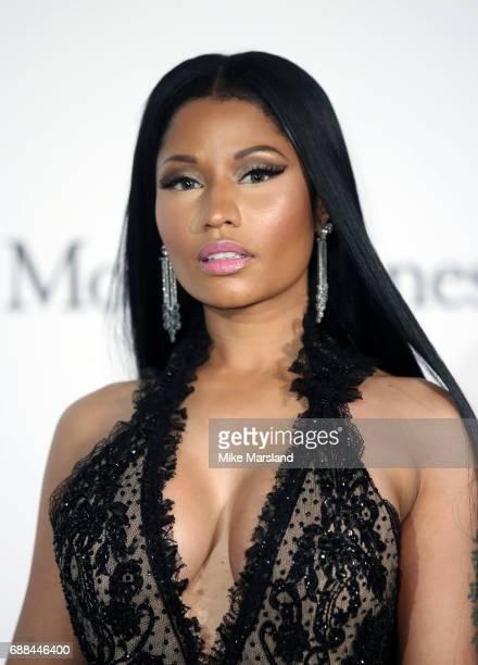 Nicki Minaj arrives at the amfAR Gala Cannes 2017 at Hotel du CapEdenRoc on May 25 2017 in Cap d'Antibes France
