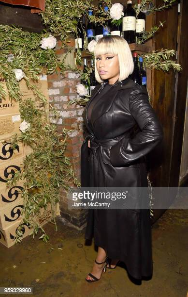 Nicki Minaj attends ELLE x Stuart Weitzman celebration of Giovanni Morelli's debut collection for Stuart Weitzman hosted by Nina Garcia on May 16...