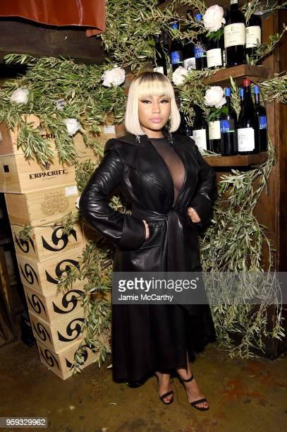 Nicki Minaj attends ELLE x Stuart Weitzman celebration of Giovanni Morelli's debut collection for Stuart Weitzman hosted by Nina Garcia on May 16...