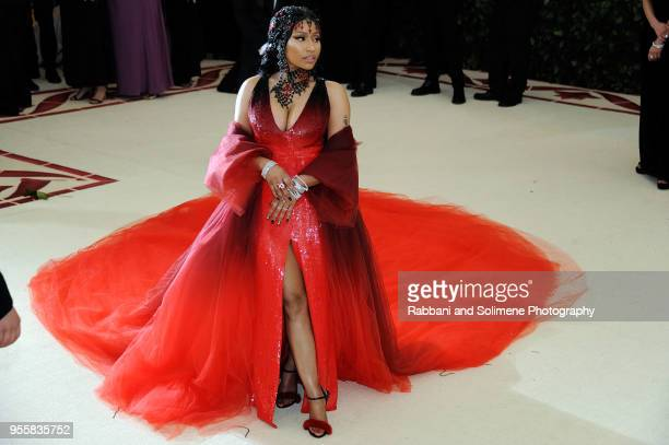 Nicki Minaj attends Heavenly Bodies Fashion The Catholic Imagination Costume Institute Gala at the Metropolitan Museum of Art in New York City