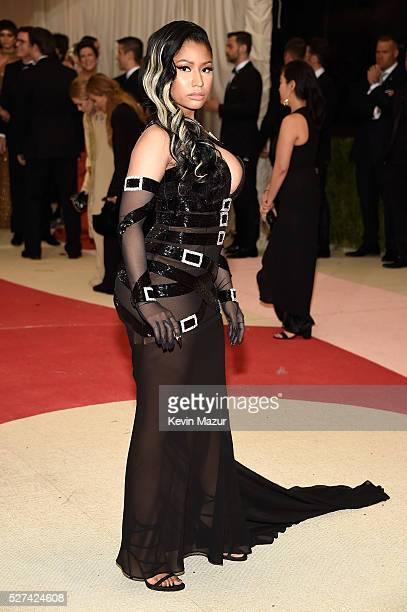 Nicki Minaj attends Manus x Machina Fashion In An Age Of Technology Costume Institute Gala at Metropolitan Museum of Art on May 2 2016 in New York...