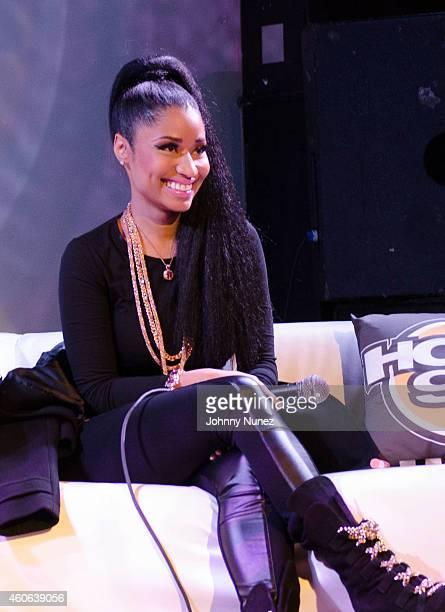 Nicki Minaj attends Nicki Minaj Listening Party With HOT97 at SOB's on December 17 2014 in New York City