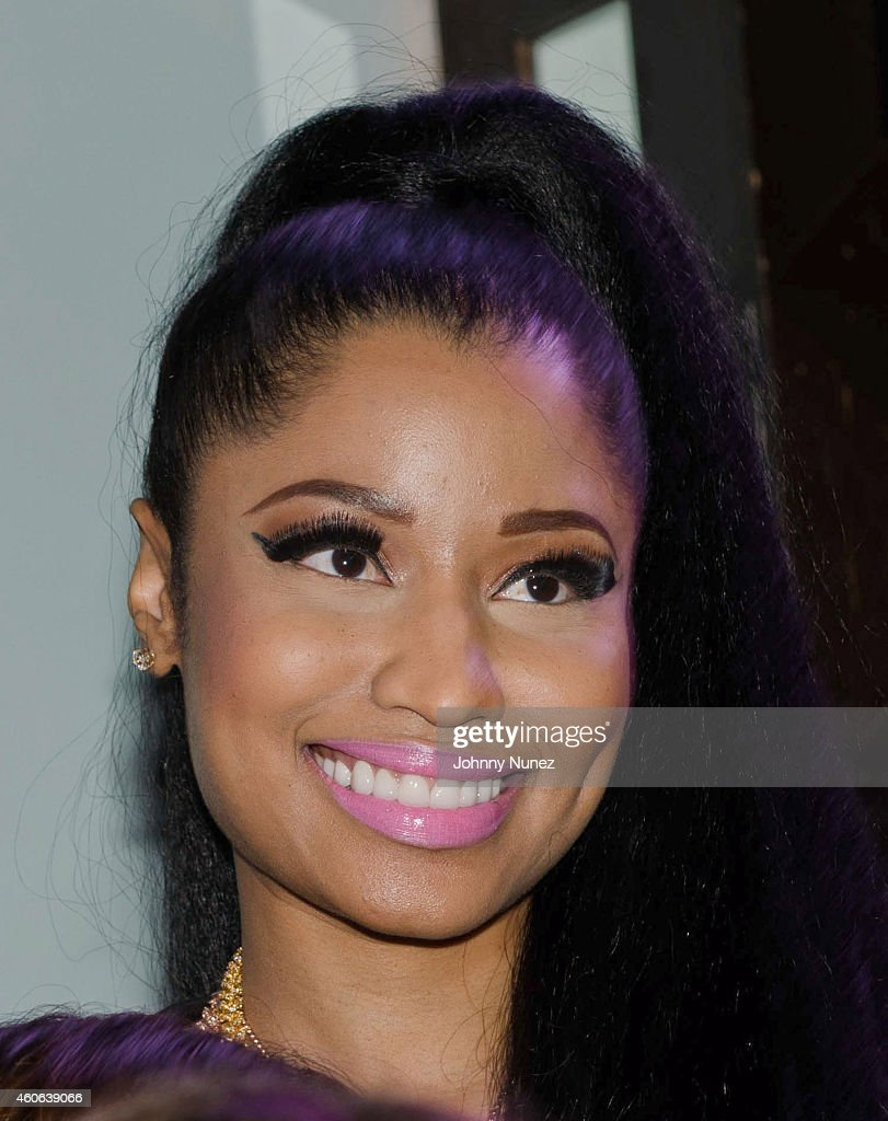 Nicki Minaj Attends Listening Party With HOT97 At SOBs On December 17