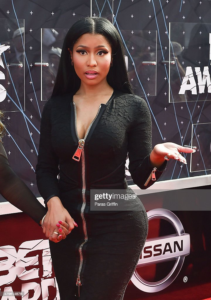 Nicki Minaj attends the 2015 BET Awards at the Microsoft Theater on June 28, 2015 in Los Angeles, California.