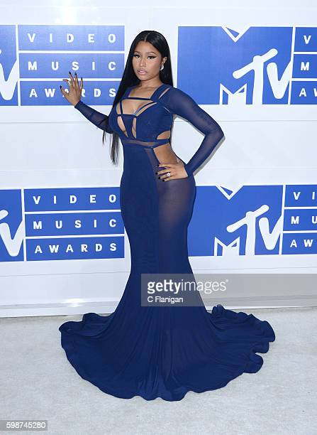 Nicki Minaj attends the 2016 MTV Video Music Awards at Madison Square Garden on August 28 2016 in New York City