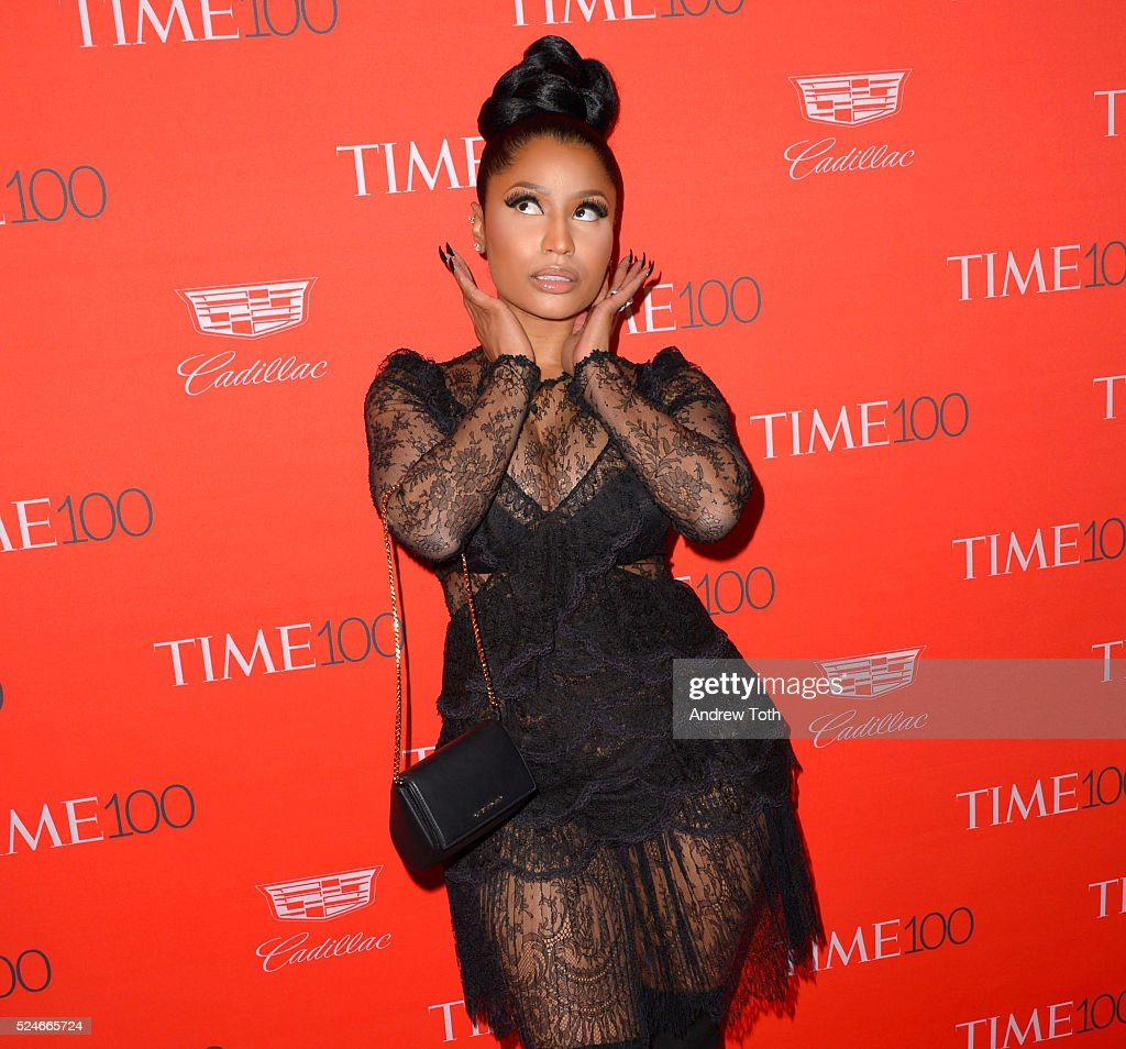 Nicki Minaj attends the 2016 Time 100 Gala at Frederick P. Rose Hall, Jazz at Lincoln Center on April 26, 2016 in New York City.