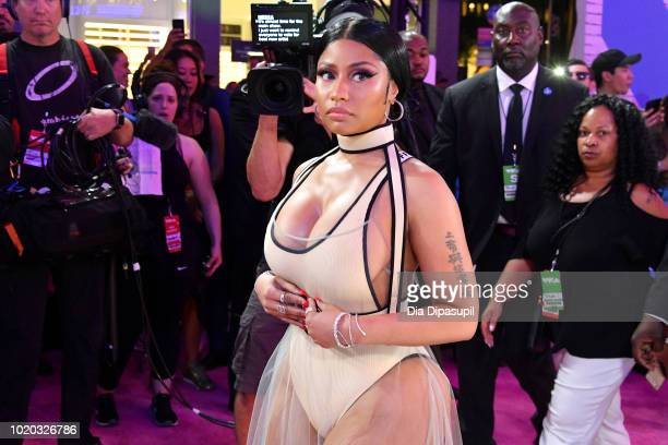 Nicki Minaj attends the 2018 MTV Video Music Awards at Radio City Music Hall on August 20 2018 in New York City