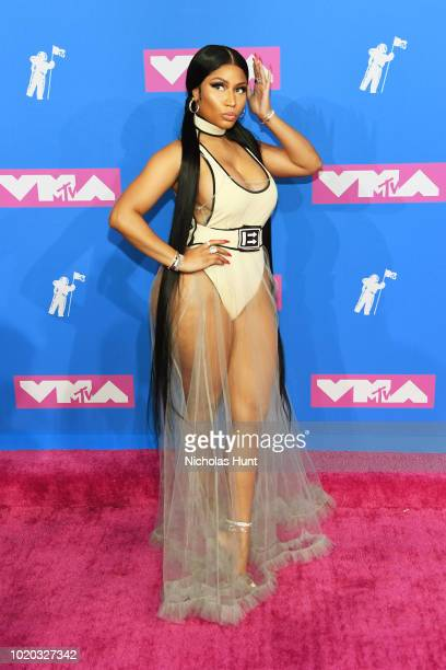 Nicki Minaj attends the 2018 MTV Video Music Awards at Radio City Music Hall on August 20 2018 in New York City