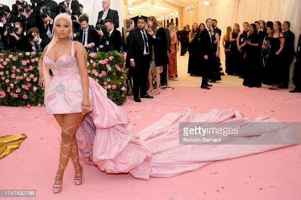 Nicki Minaj attends The 2019 Met Gala Celebrating Camp Notes on Fashion at Metropolitan Museum of Art on May 06 2019 in New York City
