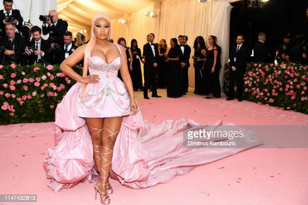 Nicki Minaj attends The 2019 Met Gala Celebrating Camp Notes on Fashion at Metropolitan Museum of Art on May 06 2019 in New York City