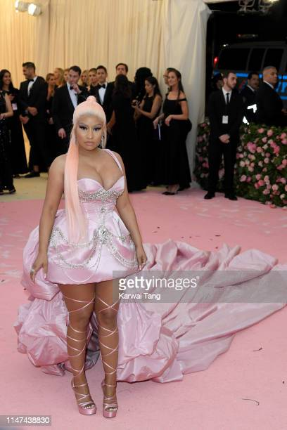 Nicki Minaj attends The 2019 Met Gala Celebrating Camp Notes On Fashion at The Metropolitan Museum of Art on May 06 2019 in New York City