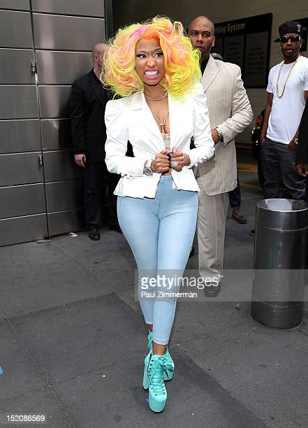 Nicki Minaj attends the 'American Idol' Judges And Host Photo Call at Jazz at Lincoln Center on September 16 2012 in New York City