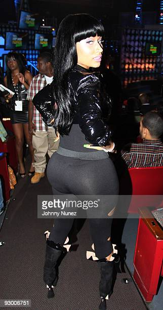 Nicki Minaj attends the BET Hip Hop Awards '09 at the Boisfeuillet Jones Atlanta Civic Center on October 10 2009 in Atlanta Georgia