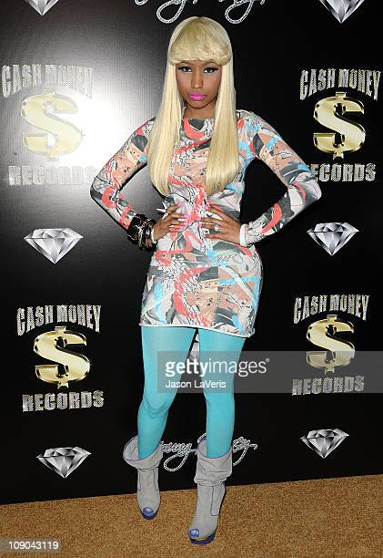 Nicki Minaj attends the Cash Money Records annual PreGrammy Awards party at The Lot on February 12 2011 in West Hollywood California
